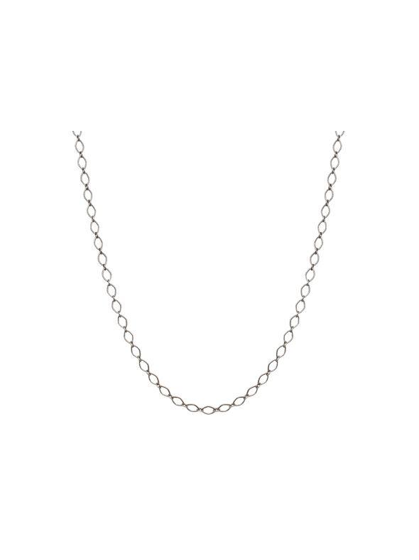 """Silver Sofia Chain: 16-19"""""""
