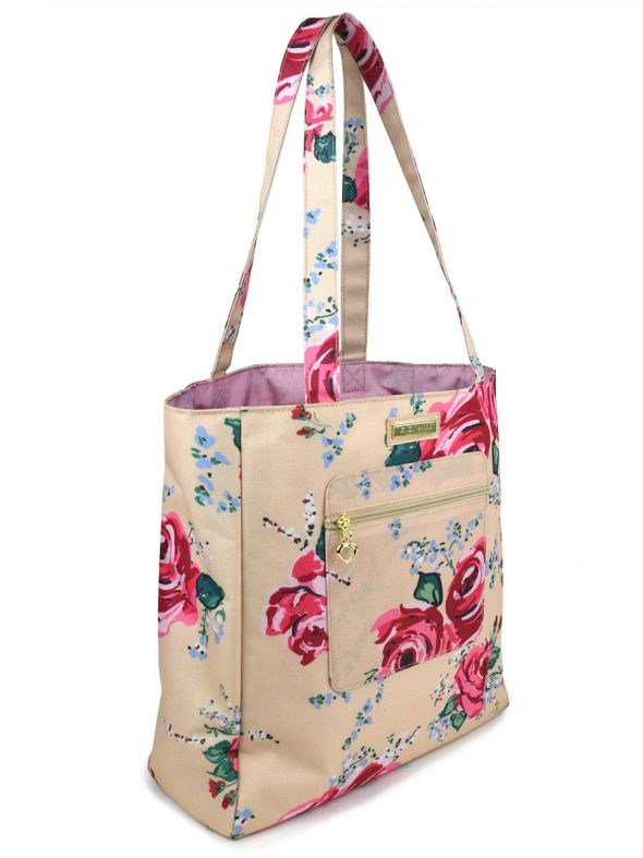 Katharine Antique Floral Tote
