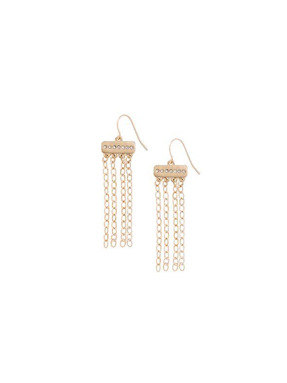 Golden Sparkle Earrings