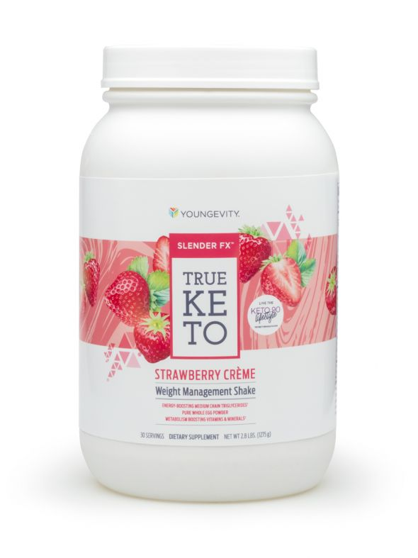 Slender FX™ True Keto Strawberry Créme Shake